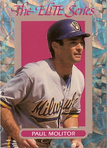 Top 10 Paul Molitor Baseball Cards 6
