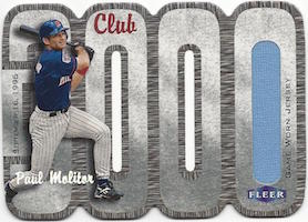 Top 10 Paul Molitor Baseball Cards 5