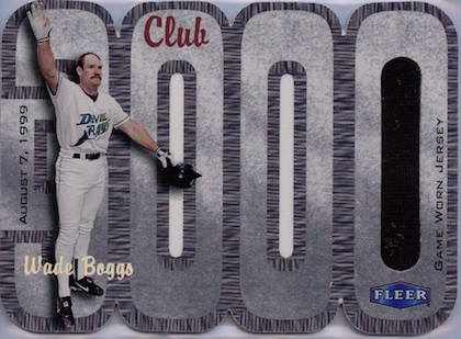 Top 10 Wade Boggs Baseball Cards 2