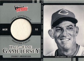 Top 10 Sparky Anderson Baseball Cards 2