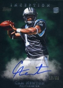 Cam Newton Rookie Cards Checklist and Autographed Memorabilia Guide 4