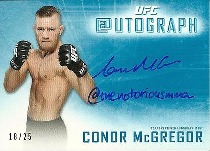 Top 10 Conor McGregor Cards 9