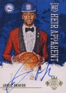 2015-16 Panini Court Kings Basketball Heir Apparent Autographs Okafor