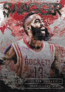 2015-16 Panini Court Kings Basketball Swagger Harden