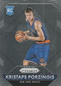 2015-16 Panini Prizm Basketball Base Porzingis RC