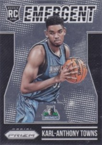 2015-16 Panini Prizm Basketball Emergent Towns
