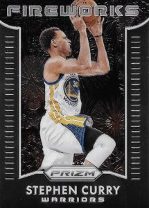 2015-16 Panini Prizm Basketball Fireworks Curry