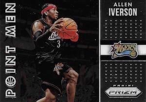 2015-16 Panini Prizm Basketball Point Men Iverson