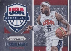 2015-16 Panini Prizm Basketball USA LeBron