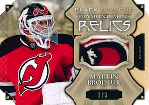 2015-16 Upper Deck Black Diamond Hockey Diamond Mine Relics
