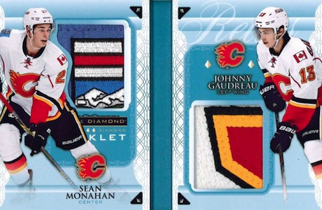 2015-16 Upper Deck Black Diamond Hockey Double Diamond Booklet Relics