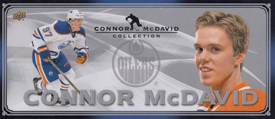 2015-16 Upper Deck Connor McDavid Collection Hockey Cards 22