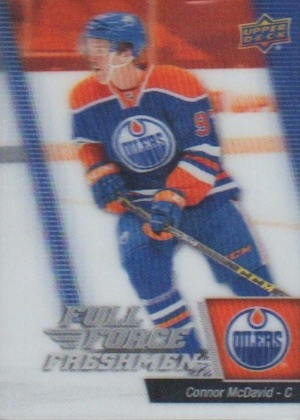 2015-16 Upper Deck Full Force Connor McDavid RC #101
