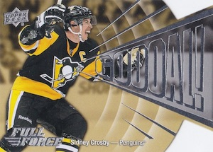 2015-16 Upper Deck Full Force Hockey Goooal! Crosby