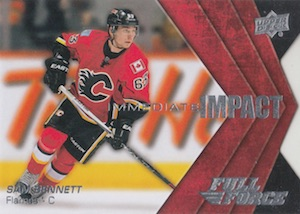 2015-16 Upper Deck Full Force Hockey Immediate Impact