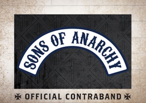 2015 Cryptozoic Sons of Anarchy Seasons 6 and 7 Replica Patch