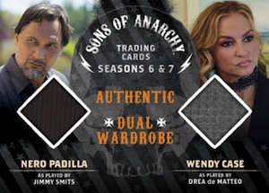 2015 Cryptozoic Sons of Anarchy Seasons 6 and 7 Wardrobe Dual