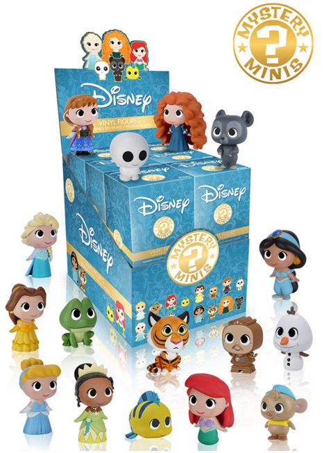 Funko Disney Princesses Mystery Minis Checklist Rarity