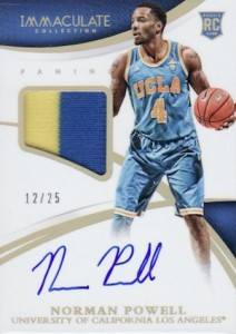 2015 Immaculate Collegiate BK Patches Autographs