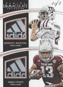 2015 Immaculate Collegiate Combos Relic Tags