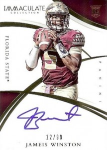 2015 Immaculate Collegiate Rookie Autographs Winston