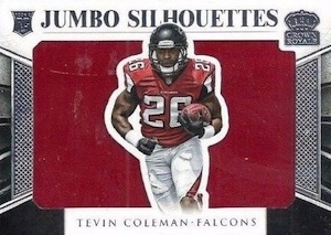 2015 Panini Crown Royale Football Jumbo Silhouette Relics