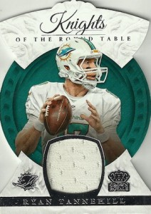 2015 Panini Crown Royale Football Knights of the Round Table Die-Cut Relics
