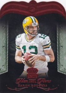 2015 Panini Crown Royale Football Men at Arms Die-Cuts Red