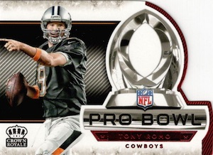 2015 Panini Crown Royale Football Pro Bowl Die-Cuts Romo