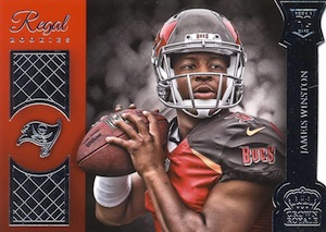 2015 Panini Crown Royale Football Regal Rookies Die-Cuts Winston