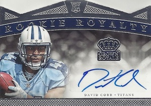 2015 Panini Crown Royale Football Rookie ROYalty Signatures