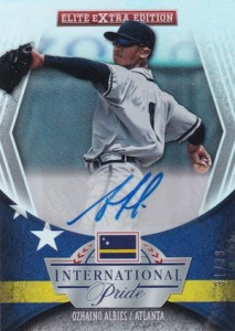 2015 Panini Elite Extra Edition Baseball International Pride Signatures