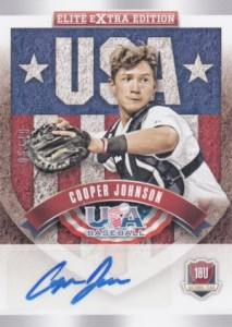 2015 Panini Elite Extra Edition Baseball USA 18U Signatures