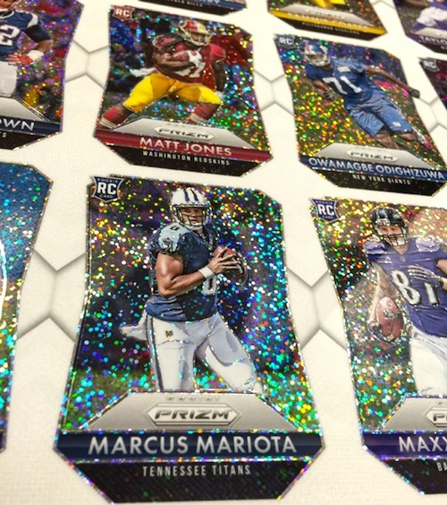 2015 Panini Prizm Football White Sparkle Parallel