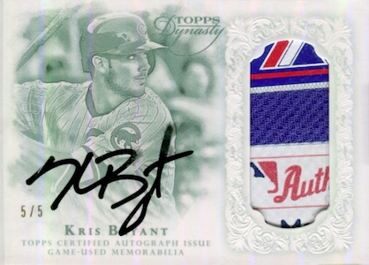 Kris Bryant Rookie Card Gallery and Checklist 8