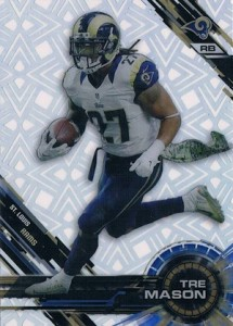 2015 Topps High Tek Football Short Print Patterns and Variations Guide 57