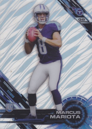 2015 Topps High Tek Football Short Print Patterns and Variations Guide 1