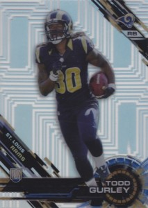 2015 Topps High Tek Football Patterns Pipes Todd Gurley