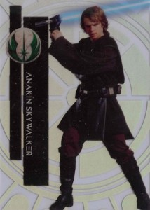 2015 Topps High Tek Star Wars Base 36 Anakin Skywalker
