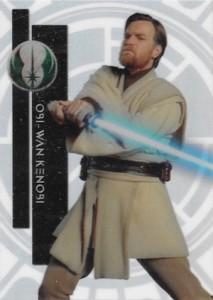 2015 Topps High Tek Star Wars Base 37 Obi Wan Kenobi