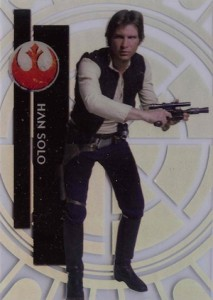 2015 Topps High Tek Star Wars Base Han Solo