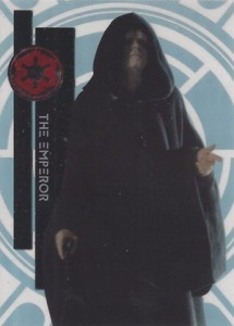 2015 Topps High Tek Star Wars Base The Emperor