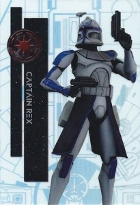 2015 Topps High Tek Star Wars Millennium Falcon Rex