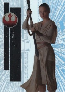 2015 Topps High Tek Star Wars Second Death Star Reactor Core Rey