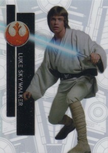 2015 Topps High Tek Star Wars Star Destroyer Luke Skywalker