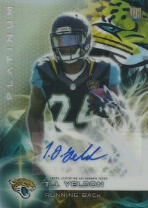 2015 Topps Platinum Football Cards - Review Added 27