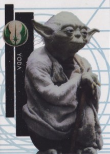 2015 Topps Star Wars High Tek Base Yoda