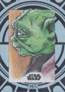 2015 Topps Star Wars High Tek Sketch