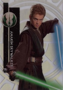 2015 Topps Star Wars High Tek Variation 36A Anakin Skywalker