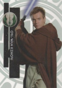 2015 Topps Star Wars High Tek Variation 37A Obi Wan Kenobi Young